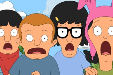 Bob's Burgers Season 4 Episode 15 The Kids Rob a Train (3)