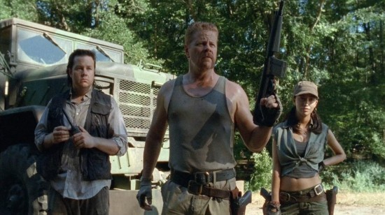 Sgt. Abraham Ford, Rosita Espinosa, and Dr. Eugene Porter - The Walking Dead