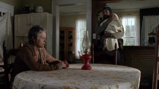 Tyreese, Carol, and Judith - The Walking Dead