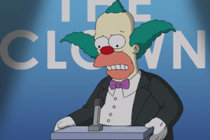 The Simpsons Season 26 Episode 1 Clown in the Dumps (2)