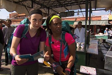 the amazing race 2505 Morocc and Roll 09