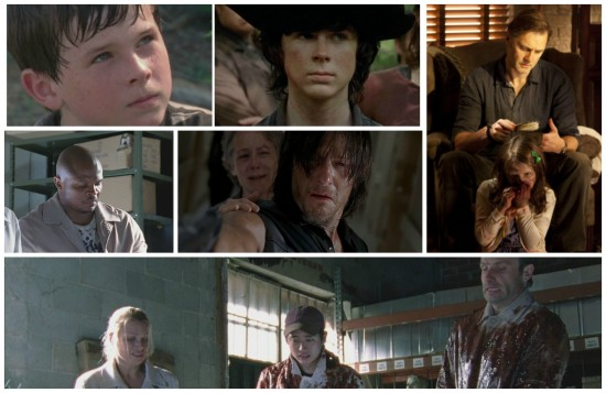 Carl, Carol, Daryl, T-Dog, Rick, Glenn, Andrea, The Governor, Penny - The Walking Dead