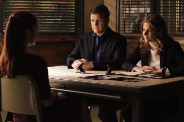 ANNIE WERSCHING, NATHAN FILLION, STANA KATIC