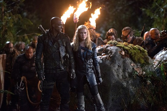 The 100 Blood Must Have Blood Part One Season 2 Episode 15 01