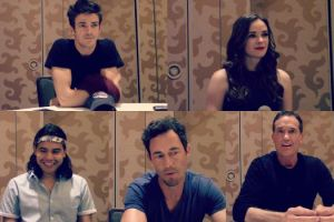 the flash cast comic-con 2015