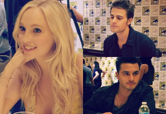 the vampire dairies cast comic-con 2015