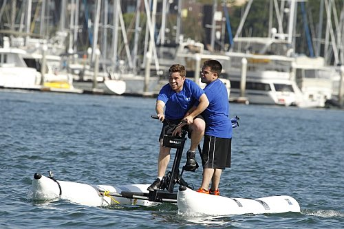 The Amazing Race A Little Too Much Beefcake Season 27 Premiere 2015 (11)