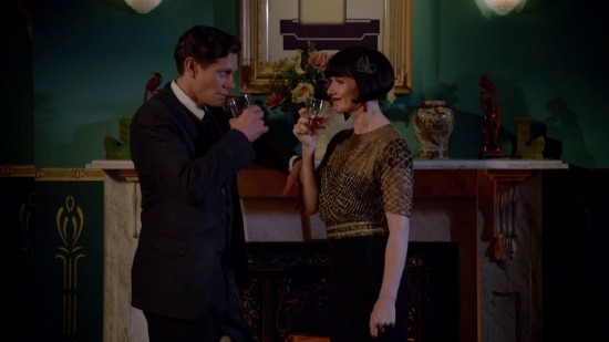 Jack and Phryne - Miss Fisher's Murder Mysteries