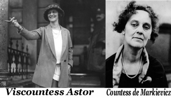 Astor and Markievicz - The Story of Women and Power