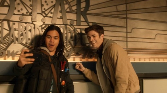Barry and Cisco - The Flash