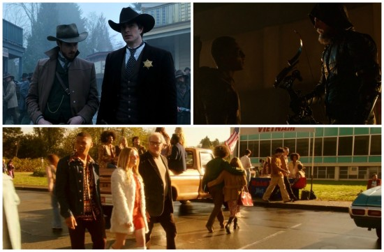 Rip, Ray, Oliver, Connor, Stein, Jax, Sarah - DC's Legends of Tomorrow