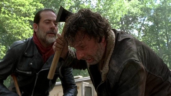 Rick and Negan - The Walking Dead