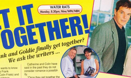 "TV Week: ""Get it together!"" Water Rats February 7th 1998"