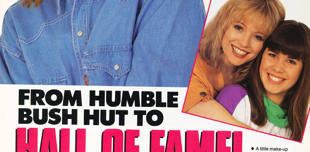 """TV Week: """"From humble bush hut to hall of fame!"""" All Together Now 20th April 1991"""
