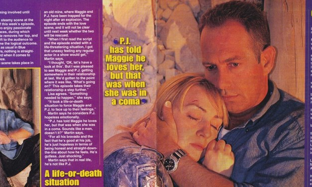 "TV Week: ""Love and other catastrophes"" Blue Heelers 26th April 1997"