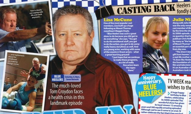 "TV Week: ""Copper in Crisis"" Blue Heelers April 8th 2006"