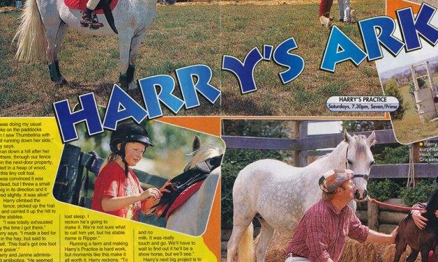 """TV Week: """"Harry's Ark"""" Harry's Practice March 14th 1998"""