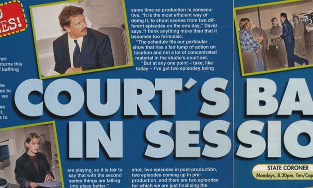 "TV Week:  ""Court's Back in Session"" State Coroner August 22nd 1998"