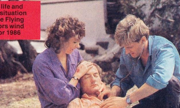 "TV Week: ""Fatal Flight"" The Flying Doctors November 15th 1986"