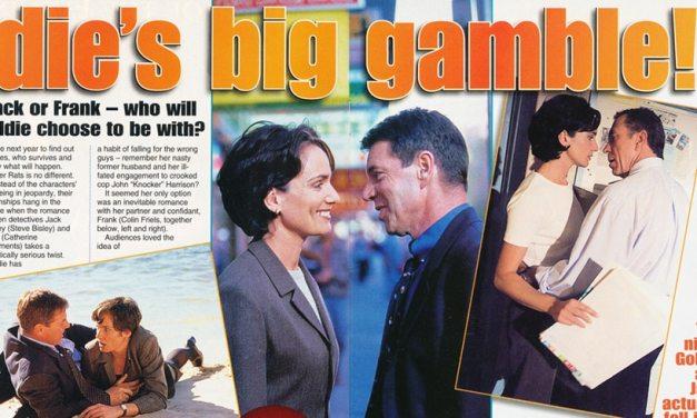 "TV Week: ""Goldie's big gamble!"" Water Rats 22nd August 1998"