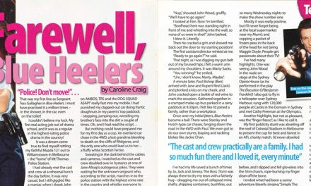 "TV Week: ""Farewell Blue Heelers"" Blue Heelers 30th August 2003"