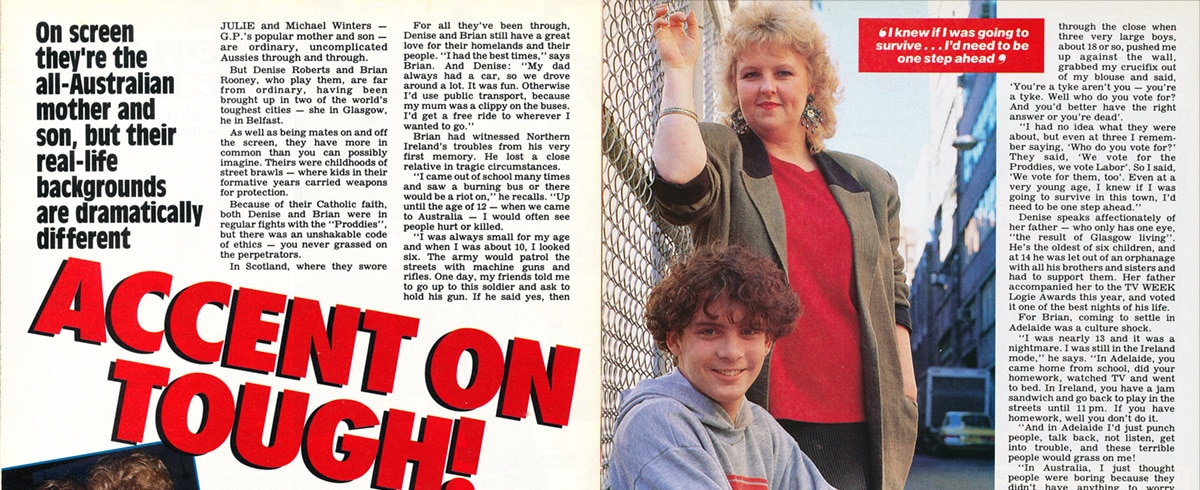 "TV Week: ""Accent on Tough!"" GP 10th August 1991"
