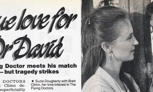 "TV Week: ""True Love for Dr David"" The Flying Doctors 1st September 1990"