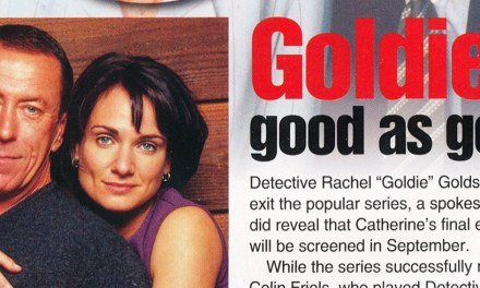 "TV Week: ""Goldie… good as gone"" Water Rats 31st July 1999"