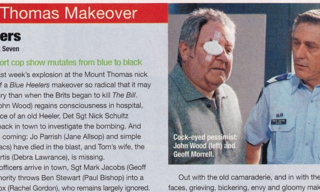 """Mount Thomas Makeover"" Blue Heelers 14th July 2004"