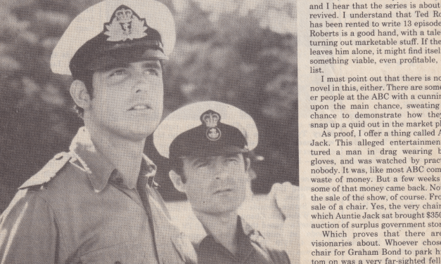 """""""Culled out – Cal Cullen speaks his mind"""" Patrol Boat 14th April 1982"""