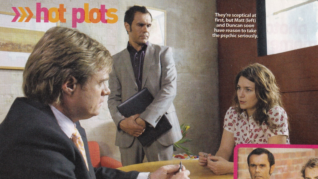 "TV Week: ""Hot Plots"" City Homicide 6th September 2008"