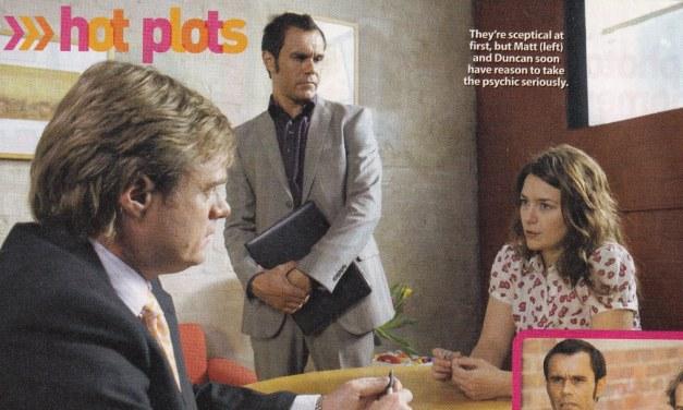 "TV Week: ""Hot Plots"" City Homicide 6th September 2008"