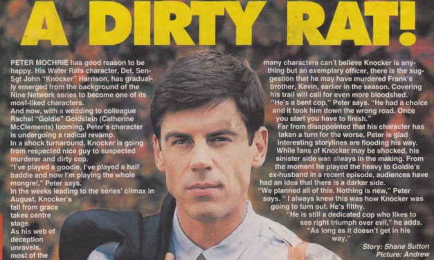 "TV Week: ""Knocker's a Dirty Rat!"" Water Rats 1996"