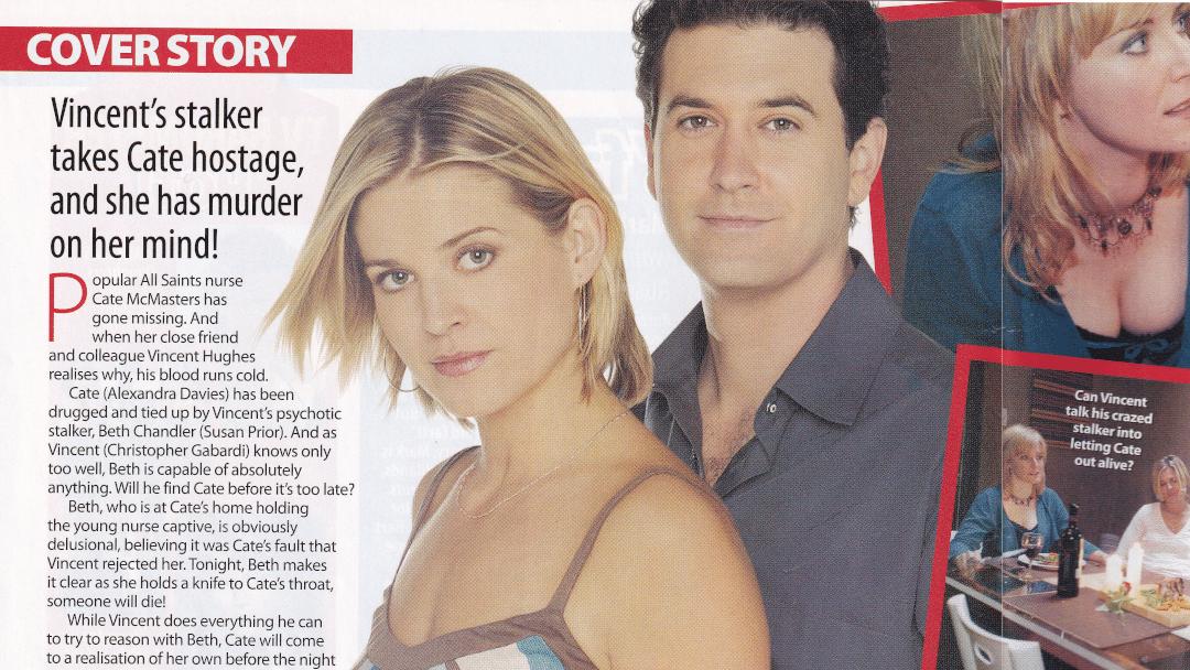 "TV Week: ""Kidnap horror"" All Saints 23rd July 2005"