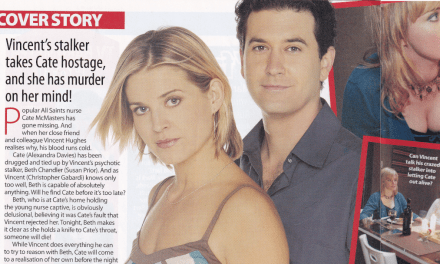 "TV Week: ""Kidnap horror"" All Saints 23rd July 2005"