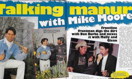 "TV Week: ""Talking Manure with Mike Moore"" Frontline 16th August 1994"