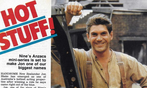 "TV Week: ""Hot Stuff"" ANZACS 5th October 1985"