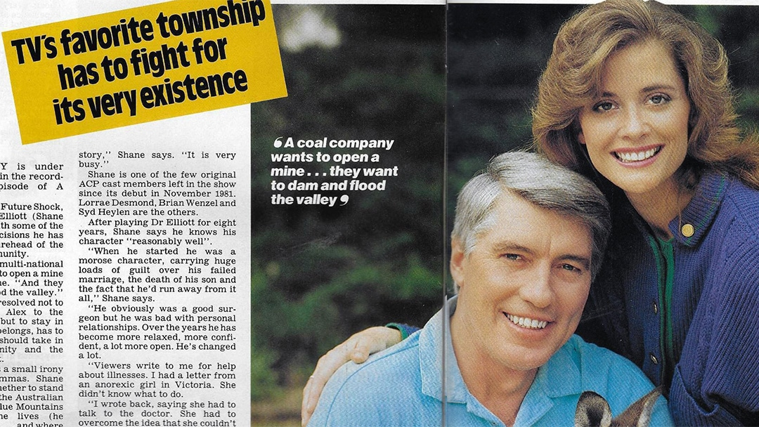 """TV Week: """"Wandin Valley Wipe Out"""" A Country Practice 14th October 1989"""