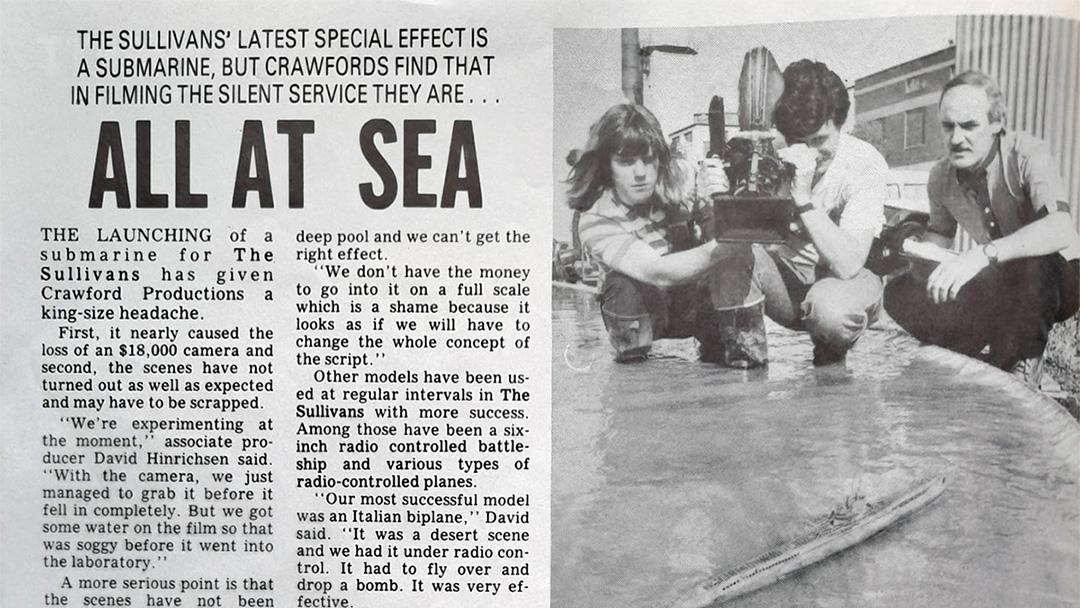"TV Week: ""All At Sea"" The Sullivans 16th December 1987"