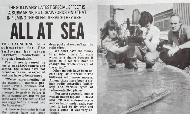 "TV Week: ""All At Sea"" The Sullivans 16th December 1987"