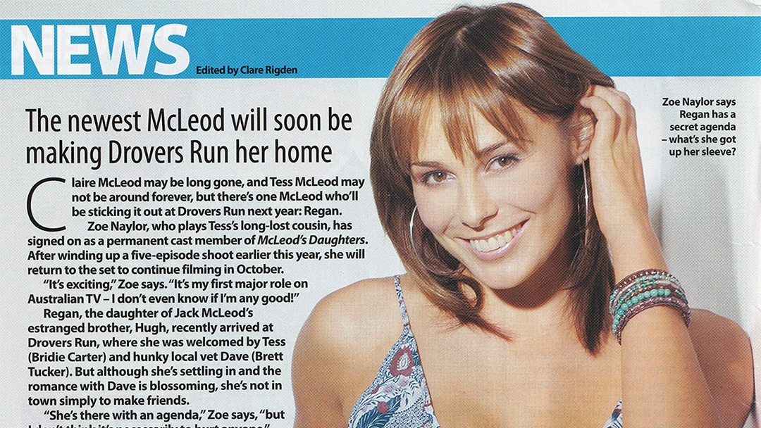 """TV Week: """"Staying Put"""" McLeod's Daughters 23rd July 2005"""