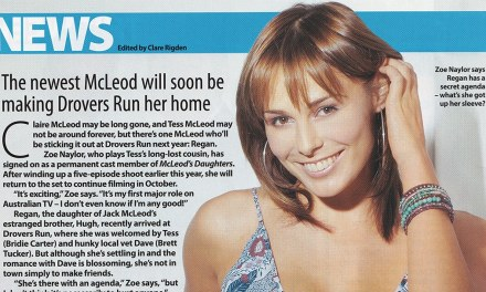 "TV Week: ""Staying Put"" McLeod's Daughters 23rd July 2005"