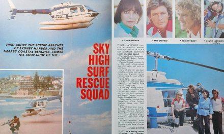 "TV Week: ""Sky High Surf Rescue Squad"" Chopper Squad 15th April 1978"