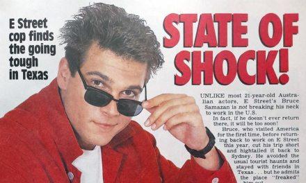 """TV Week: """"State of Shock!"""" E Street 29th February 1992"""