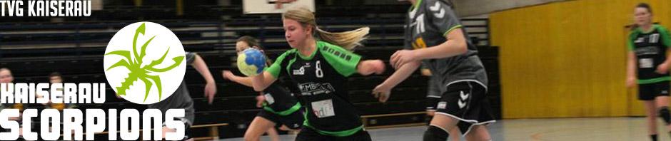 tvg handball kaiserau scorpions