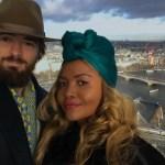 Gaby Amarantos comemora fim de ano de férias na Europa