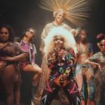 """Negro é """"ícone de beleza e poder"""" em novo clipe de Gaby Amarantos; assista"""