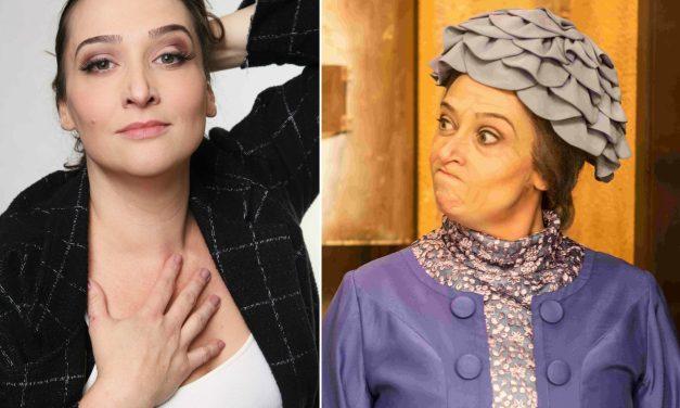 """Irreconhecível como Dona Clotilde, Andrezza Massei se destaca em """"Chaves – Um Tributo Musical"""""""