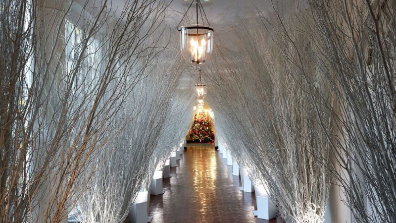 Hgtv Special Explains The Behind White House S Holiday Decorations