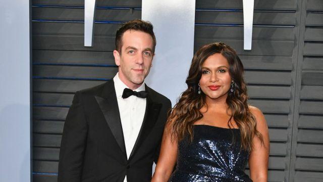 The Office Fans Listen Up Mindy Kaling Brought B J Novak As Her Oscars Date